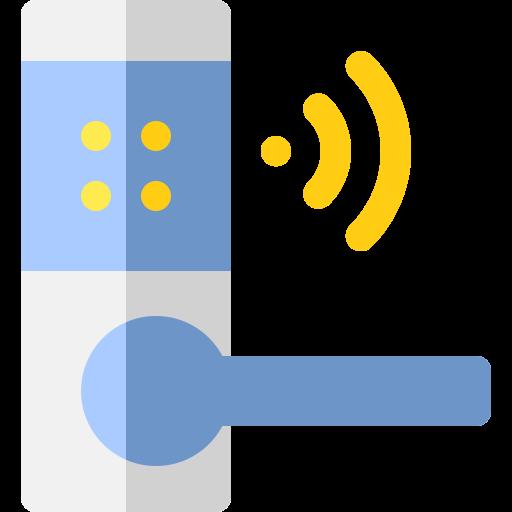 امنیت خانه هوشمند شرکت مهندسی المان الکترونیک eleman smarthome smart home door knob security